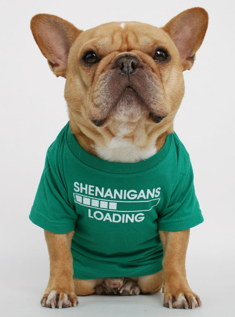 Shenanigans Loading Dog Tee