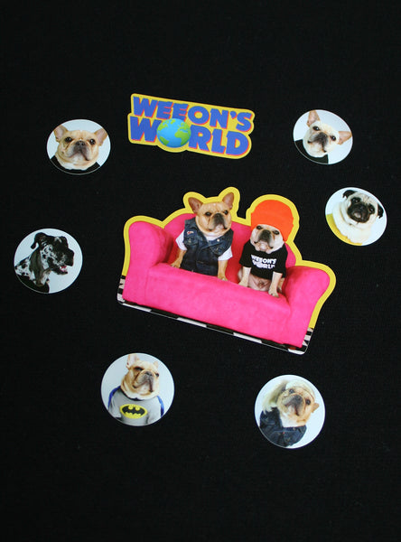 WEEON'S WORLD STICKER SHEET