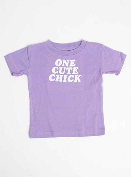 One Cute Chick Dog Tee
