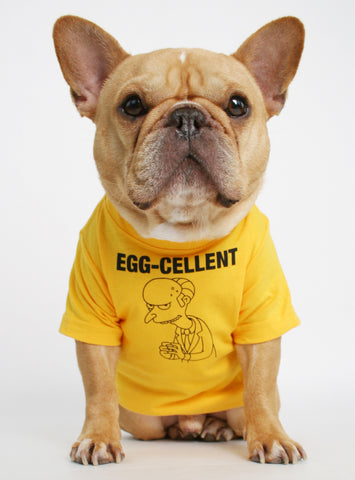 Egg-cellent Dog Tee