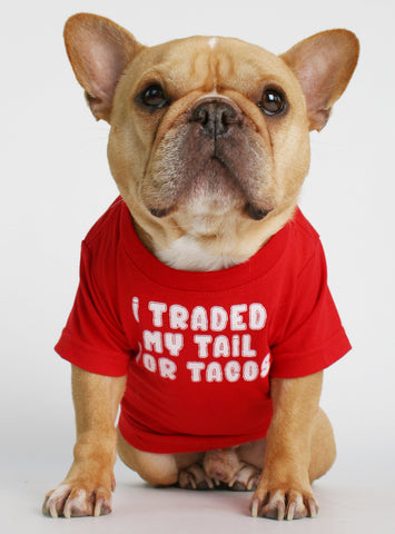 Traded My Tail Dog Tee