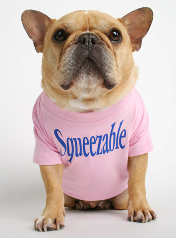 Squeezable Dog Tee