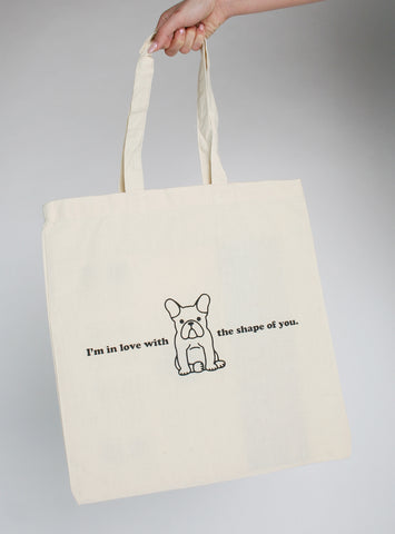 The Shape Of You Tote Bag