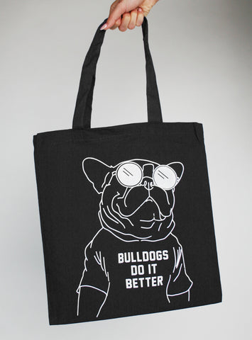 Bulldogs Do It Better Tote Bag