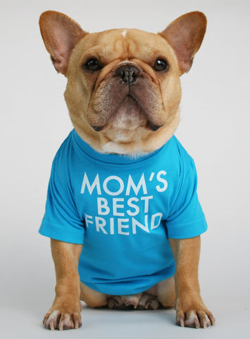 Mom's Best Friend Dog Tee