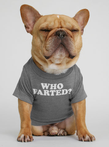 Who Farted Dog Tee