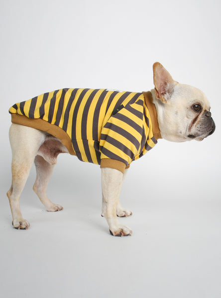 The Dejah Striped Dog Tee