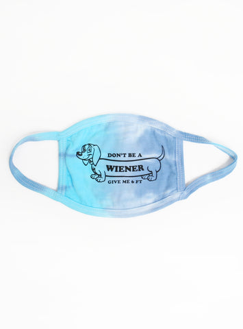 Wiener Dog Ear Loop Mask