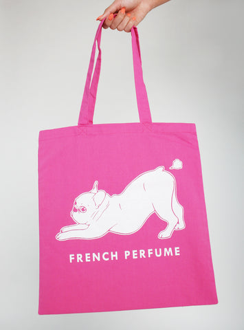 French Perfume Tote Bag