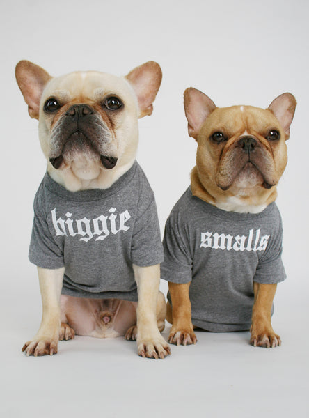Biggie Smalls (2-Pack) Dog Tee