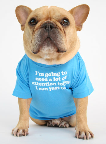 Need Attention Dog Tee