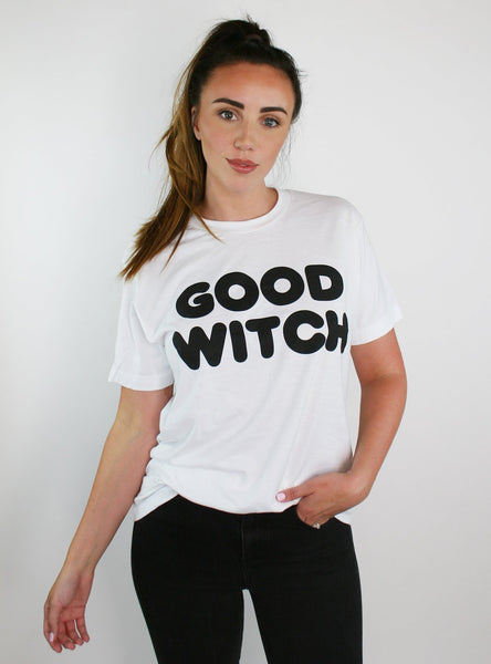 Good Witch + Bad Witch Matching T-Shirt Set