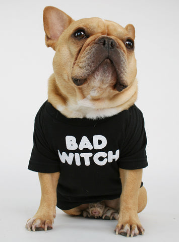 BAD WITCH DOG TEE