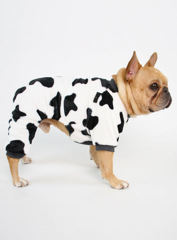 Urban Cow Dog Pajama Jumpsuit