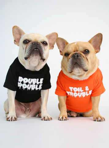 Double Double + Toil And Trouble (2-Pack) Dog Tee