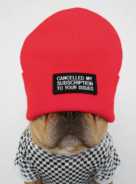 YOUR ISSUES BEANIE