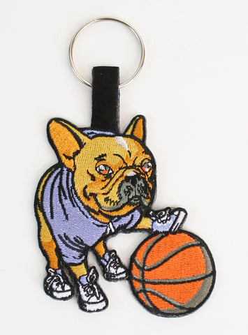 Hoop Dreams Keychain