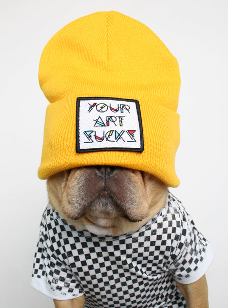 Your Art Sucks Beanie