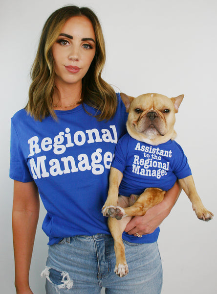 Regional + Assistant Manager Matching T-Shirt Set