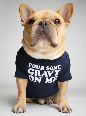 POUR SOME GRAVY ON ME DOG TEE