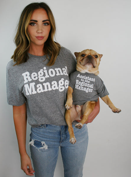 Assistant to the Regional Manager Dog Tee