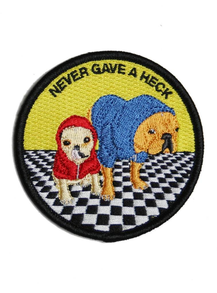 NEVER GAVE A HECK PATCH