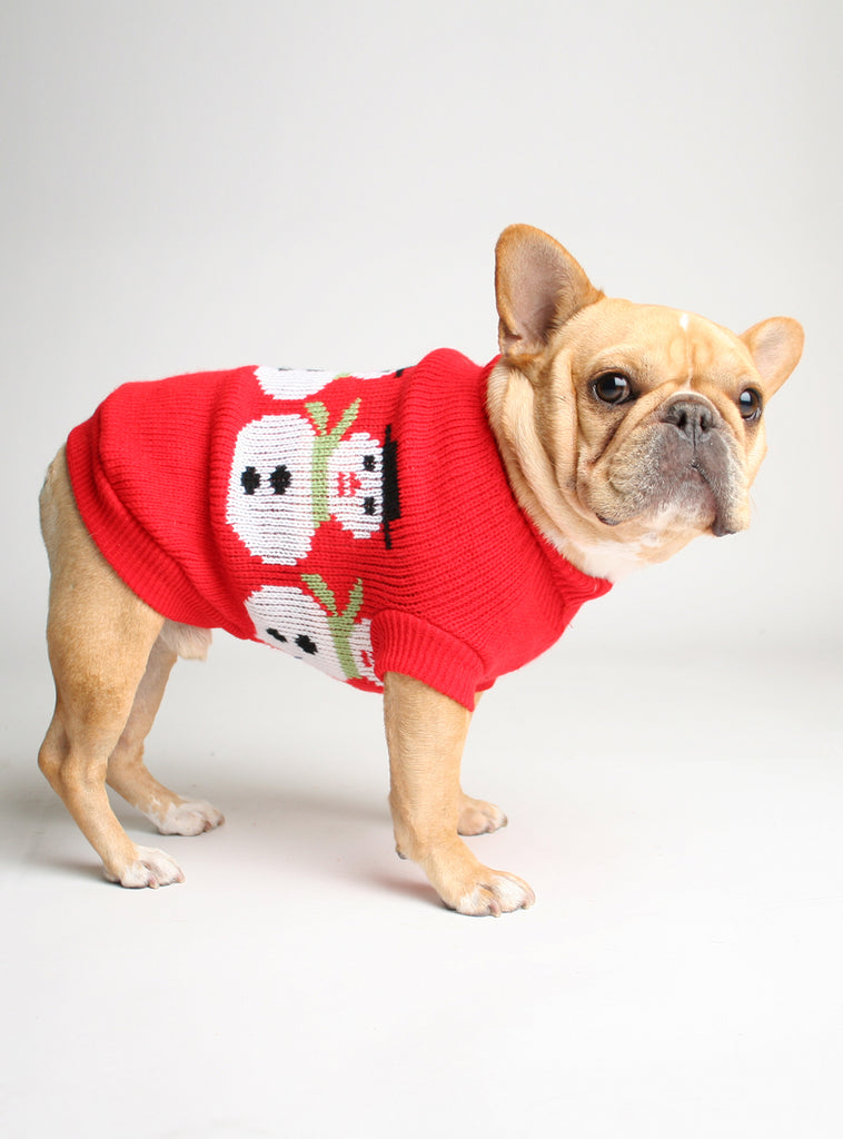 FROSTY DOG SWEATER