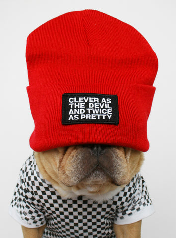 Clever As The Devil Beanie