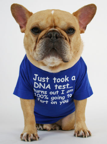 DNA Test Dog Tee