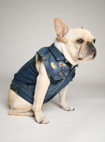 RECLAIMED DENIM VEST