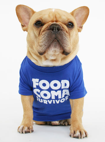 FOOD COMA SURVIVOR DOG TEE