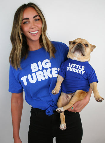 Big Turkey + Little Turkey Matching T-Shirt Set