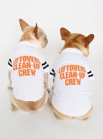 LEFTOVERS CLEAN UP CREW DOG TEE