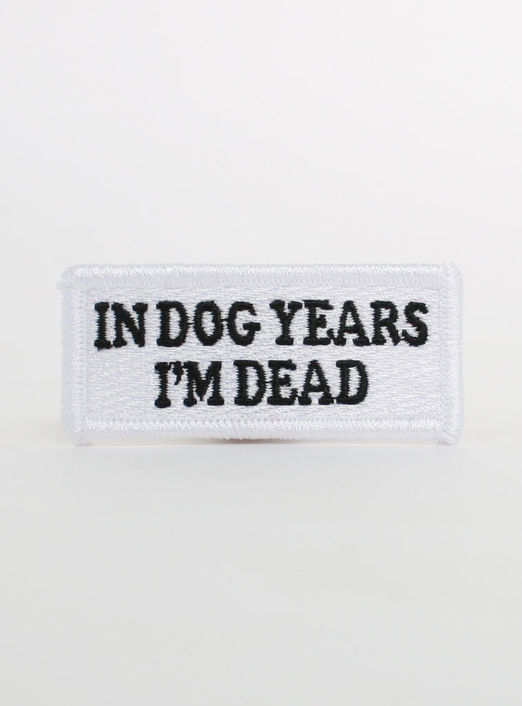 In Dog Years Patch