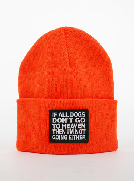 All Dogs Go To Heaven Beanie