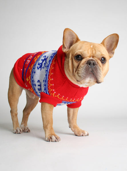 SNOWBOUND DOG SWEATER