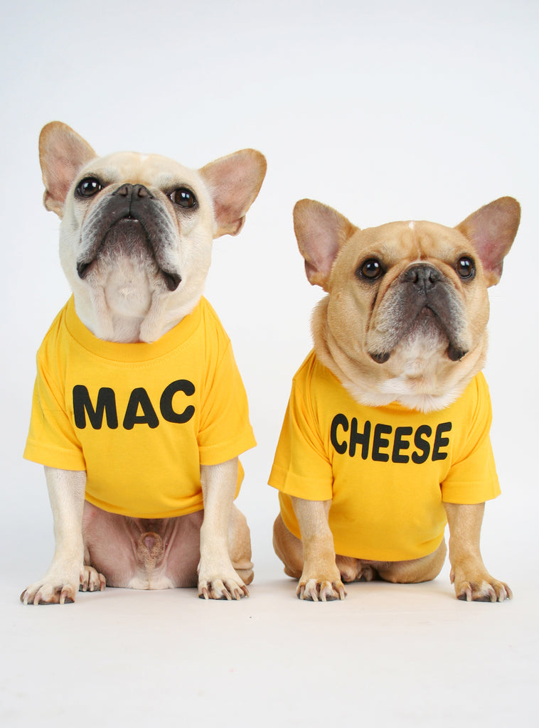 Mac + Cheese (2-Pack) Dog Tee