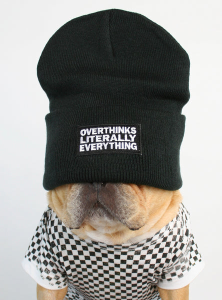 Overthinks Literally Everything Beanie