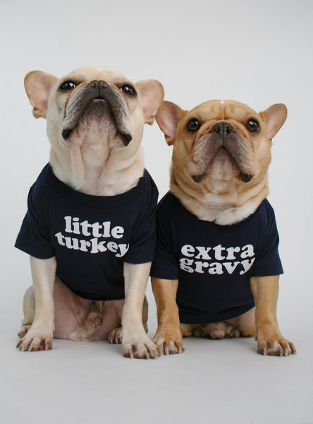 Turkey + Gravy (2-Pack) Dog Tee