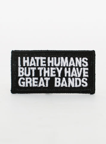 I HATE HUMANS PATCH