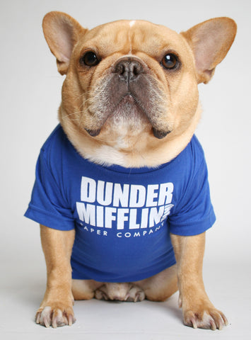 DUNDER MIFFLIN DOG TEE
