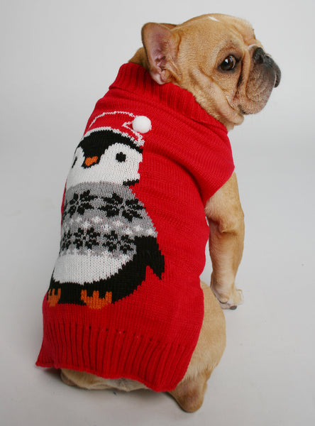 The Penguin Dog Sweater