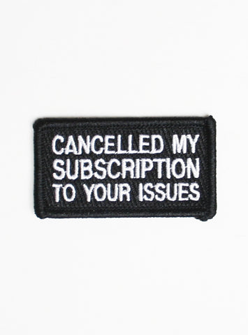 YOUR ISSUES PATCH