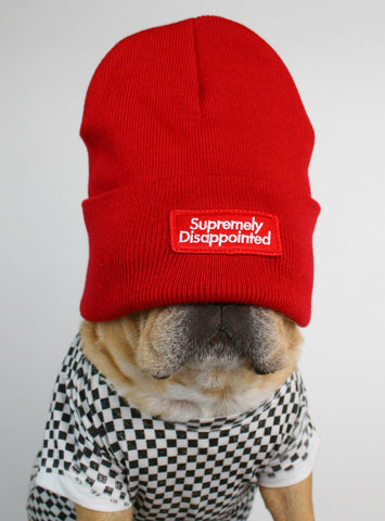 Supremely Disappointed Beanie