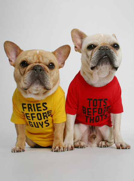 Fries + Tots (2-Pack) Dog Tee