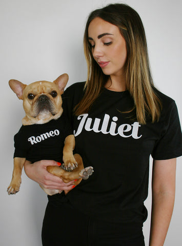 Romeo + Juliet Matching T-Shirt Set