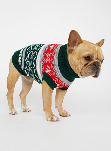 THE KRIS DOG SWEATER