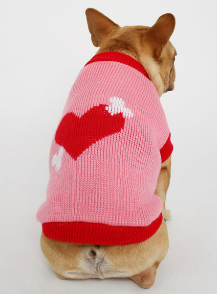 THE CUPID DOG SWEATER