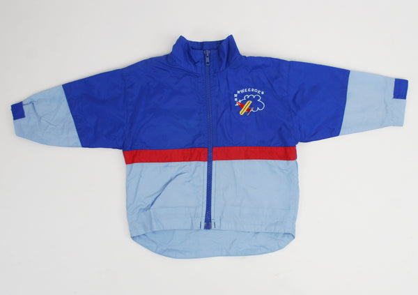 Vintage Blue Sky Weebok Dog Jacket