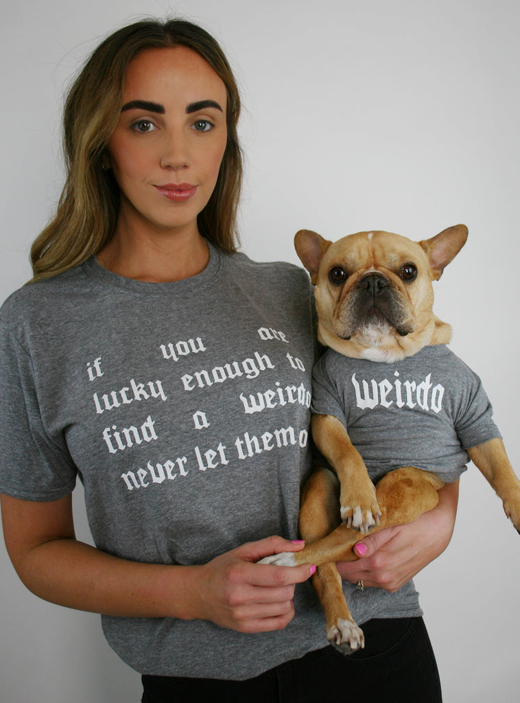 Find A Weirdo Matching T-Shirt Set
